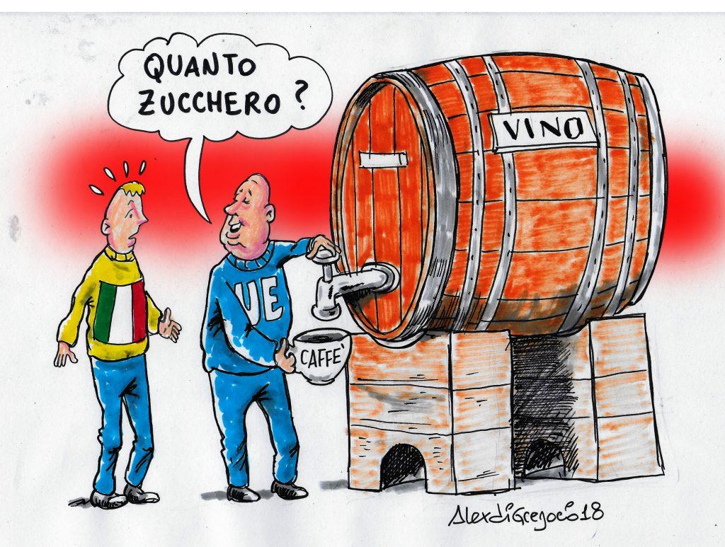 Zuccheraggio vino