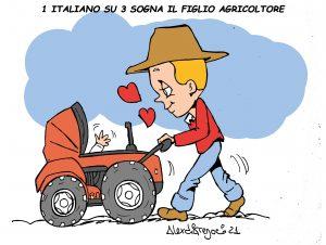 figlio agricoltore